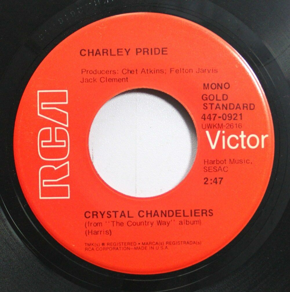 Country 45 Charley Pride - You\'Ll Still Be The One / Crystal ...