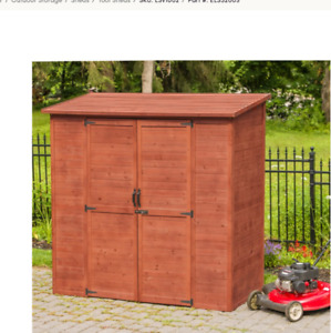 Rubbermaid 4x8 Shed