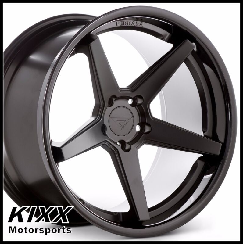 "20"" Ferrada Fr3 20x9 20x10.5 Black Wheels For Mercedes Benz S63 S65 Amg"