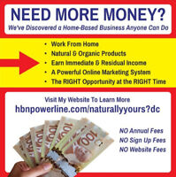 BE YOUR OWN BOSS - 6 FIGURE POTENTIAL INCOME