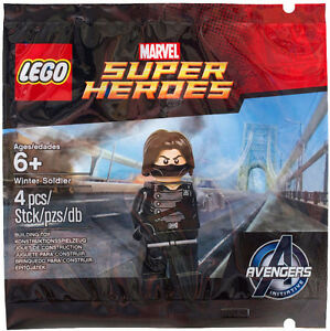 5002943 - Winter Soldier MISB LEGO polybag