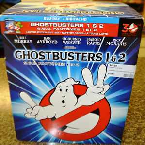 Ghostbusters Box Set with BluRays and Slimer Figurine Peterborough Peterborough Area image 1