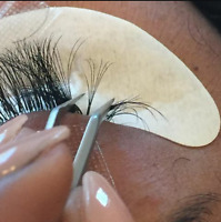 Cluster lash extension classes $400