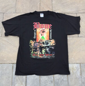 "Vintage Bone Thugs ""The Art of War Tour"" Rap Tee (1997)"
