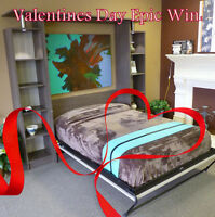 Win Valentines Day with a Murphy Bed SALE!