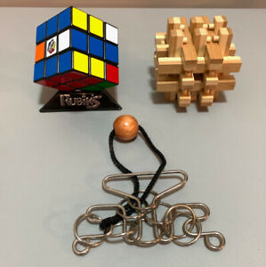 Rubik's Cube and other puzzles