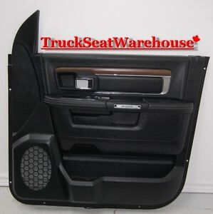 Dodge Ram 2015 RF Front Passenger Door Trim Pad Panel Laramie