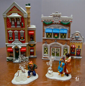 "Collection de Noël  ""Snow Village"""