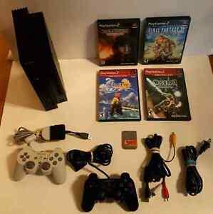 SONY PLAYSTATION II  FINAL FANTASY BUNDLE / ENSEMBLE  PS2