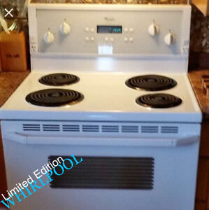 "White L. E 30"" Whirlpool Stove (Delivered & Guaranteed!)"