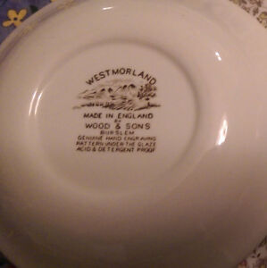 """Vintage Wood & Sons Hand-Engraved Bowls   """"West Morland"""" Strathcona County Edmonton Area image 2"""