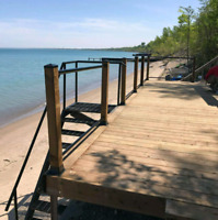 Twin Bridges Fence and Deck