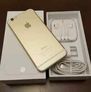 iPhones  6 16gb  Gold  with  Bell / Virgin  ** PICK UP ASAP **