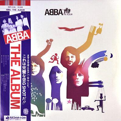 "ABBA ""The Album"" rare 1977 Japan original Lp w/Obi/lyrics sheet! Bjorn Benny for sale  Saint Petersburg"
