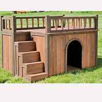 Building custom dog houses..who need a lil home for there furry