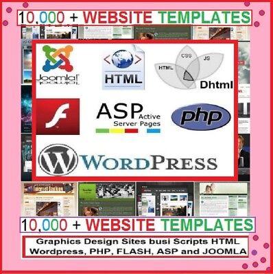 Best Deal - 10000 Website Templates Flash Wordpress Joomla Others