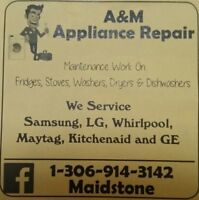 Appliance Repair and Service for Lloydminster and area