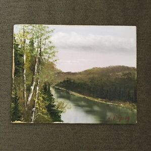 Original oil painting by Canadian Artist