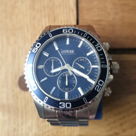 Mens Guess Chaser Chronograph Watch W017OG2