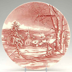 XLarge Christmas Plate Charger Serving Platter Tray Wedgwood RED Kitchener / Waterloo Kitchener Area image 1