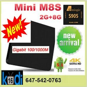 ★QUAD CORE ANDROID TV BOX★M8S MINI★GET RID OF CABLE★