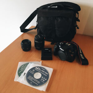 Canon Rebel T3 Camera Kit with 2 Lenses
