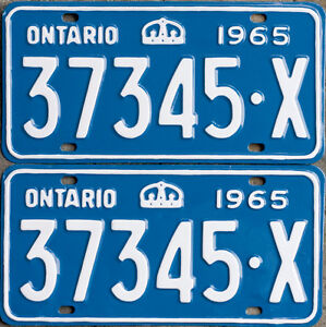 YOM Licence Plates For Your Old Auto - Ministry Guaranteed! Windsor Region Ontario image 7