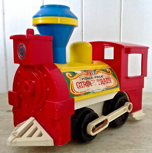 Vintage 1973. Collection. Jeu ancien Circus Train Fisher Price