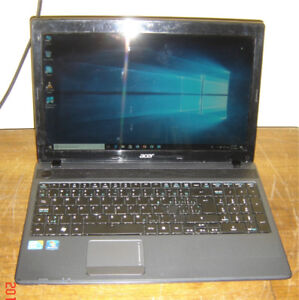 """Acer 5733 15.6"""" Laptop CORE i3 2.40GHz 500GB 4GB WIN 10 Office"""