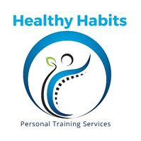 Healthy Habits Personal Training!