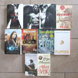 BOOKS - PAPERBACK 3 FOR $ 10 - HARDCOVER 3 FOR $ 20 - PICS IN AD