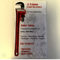 DO YOU NEED A HANDYMAN?? ALSO OFFER PLUMBING SERVICES