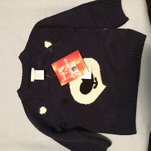 Baby boy sweaters nwt 6-12 mths