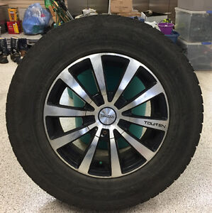 4 Winter Tires & rims that fit a Honda Odyssey
