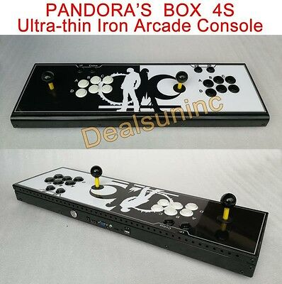 All Metal Pandora box 4s multiplayer home Arcade Console 800 Games All in one XE