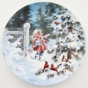 """MIMI JOBE """"WINTER CONCERT"""" LIMITED EDITION COLLECTOR PLATE"""