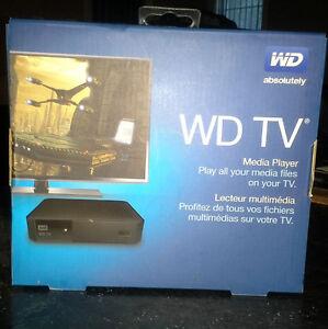 "WD TV Media Box  WDBYMNOOOONBK-VESN  ""NEW Low PRICE"""