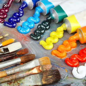 Wanted: any oil or acrylic paint, painting supplies, canvases...