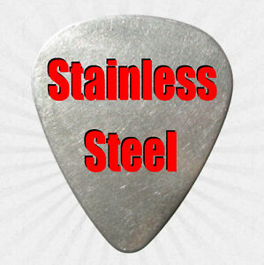 Stainless Steel Guitar Pick - 3 for $4