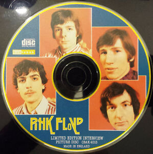 Pink Floyd Interview Picture Disc