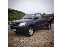 06 56 Toyota Hilux 2.5 D4D HL2 Single Cab Blue