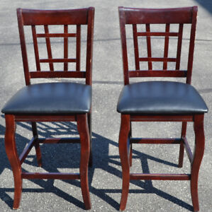 Two High Chairs