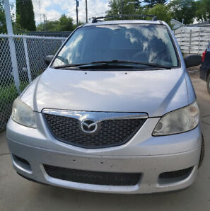 2005 Mazda MPV Minivan seeking new home