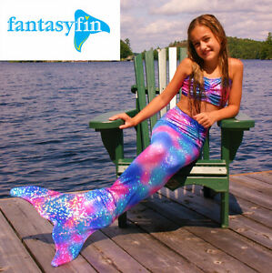 FREE SHIPPING! FANTASY FIN MERMAID TAIL & FIN, MADE IN CANADA