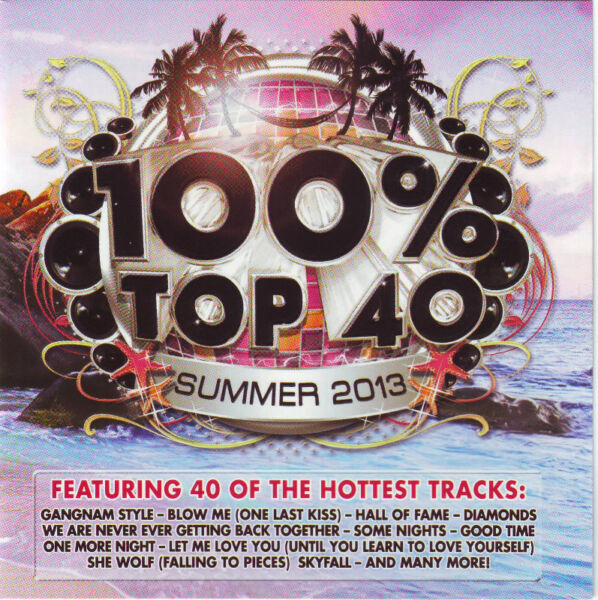 100% Top 40 Summer 2013 (double CD) (cover versions) R90 negotiable