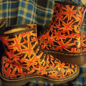 Union Jack Doc Martins