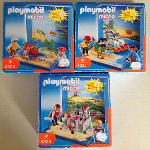 Playmobiles magnetiques