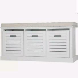 Brand new shoe storage bench