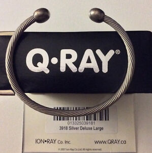 Silver Deluxe Large Q Ray Bracelet
