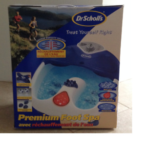 Dr Scholl's Premium Foot Spa with Water Heat up